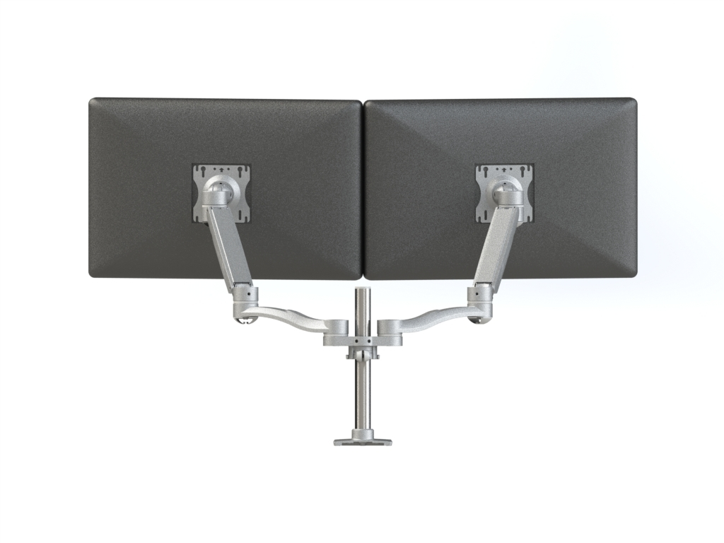 Concerto Dual Monitor Arm - Back View