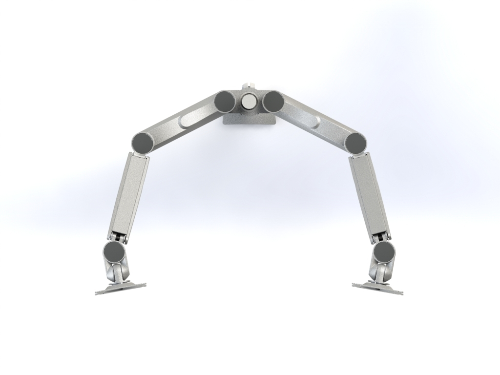 Concerto Dual Monitor Arm - Tool Free Mounting