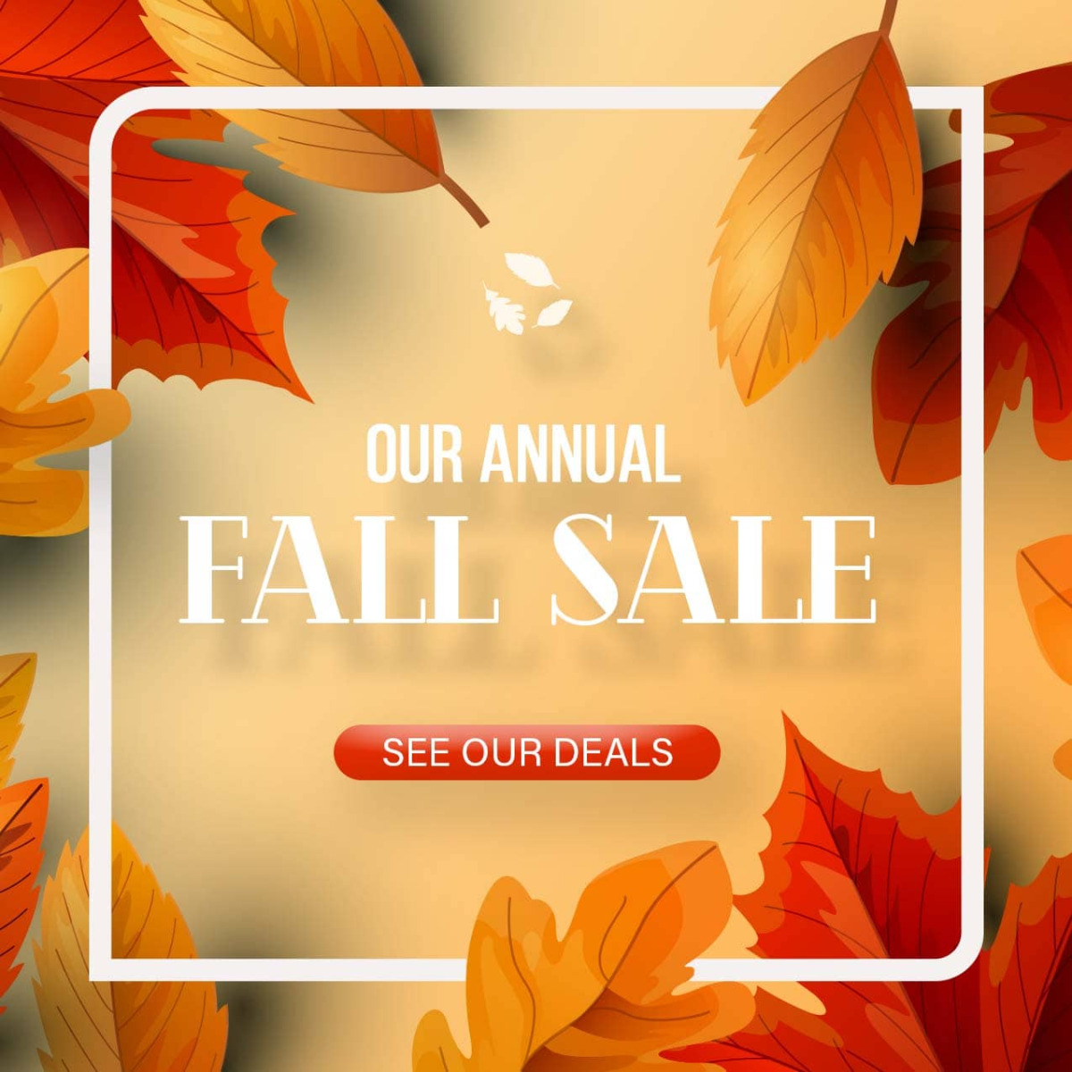 Annual Fall Sale