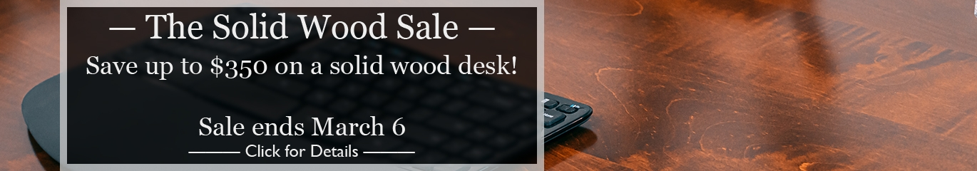 The Solid Wood Sale 2020