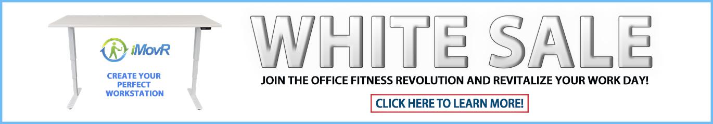 iMovR White Sale 2019