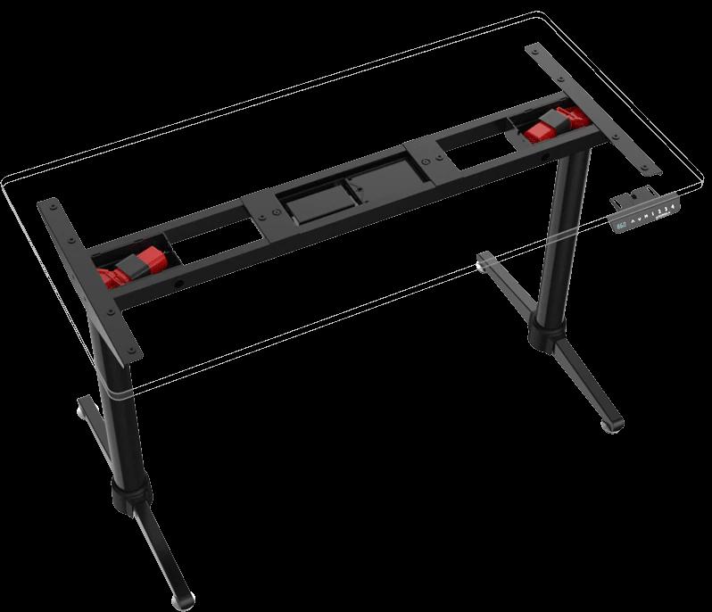 iMovR+Eureka i1 Standing Desk Dual Motor Design