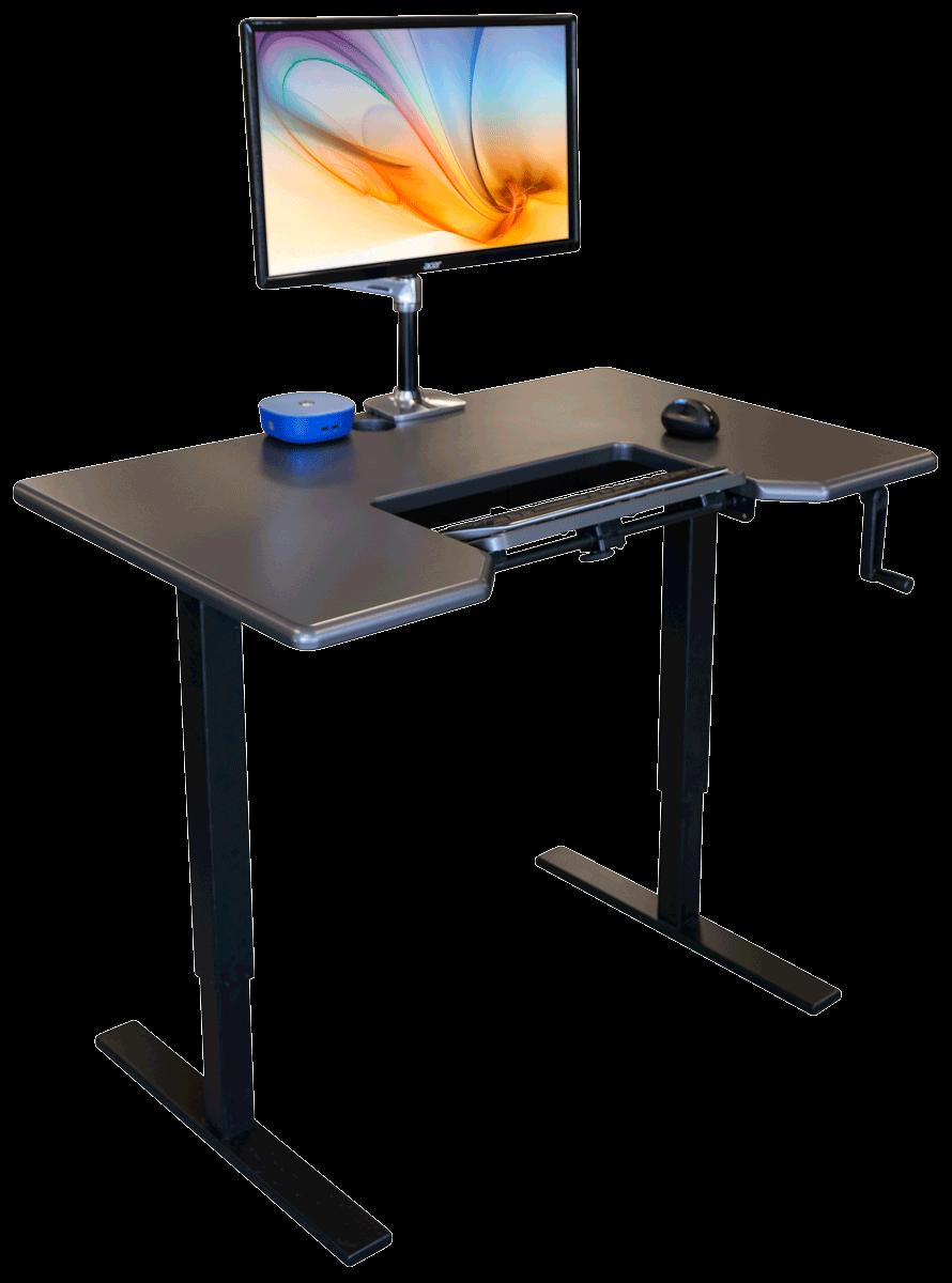 Relevate Manual Standing Desk Base