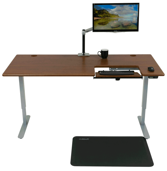 most standing desk in the world