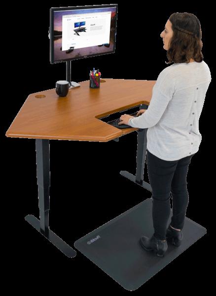 iMovR Energize Corner Desk