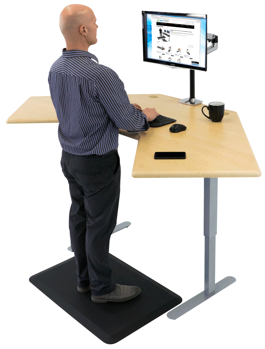 Terrific Imovr Energize Corner Standing Desk Download Free Architecture Designs Grimeyleaguecom