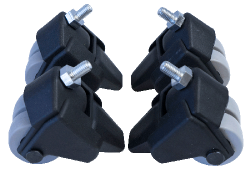 Locking Caster Wheel Set