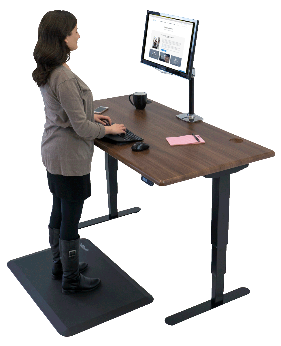 iMovR Energize Standing Desk, Most Configurable