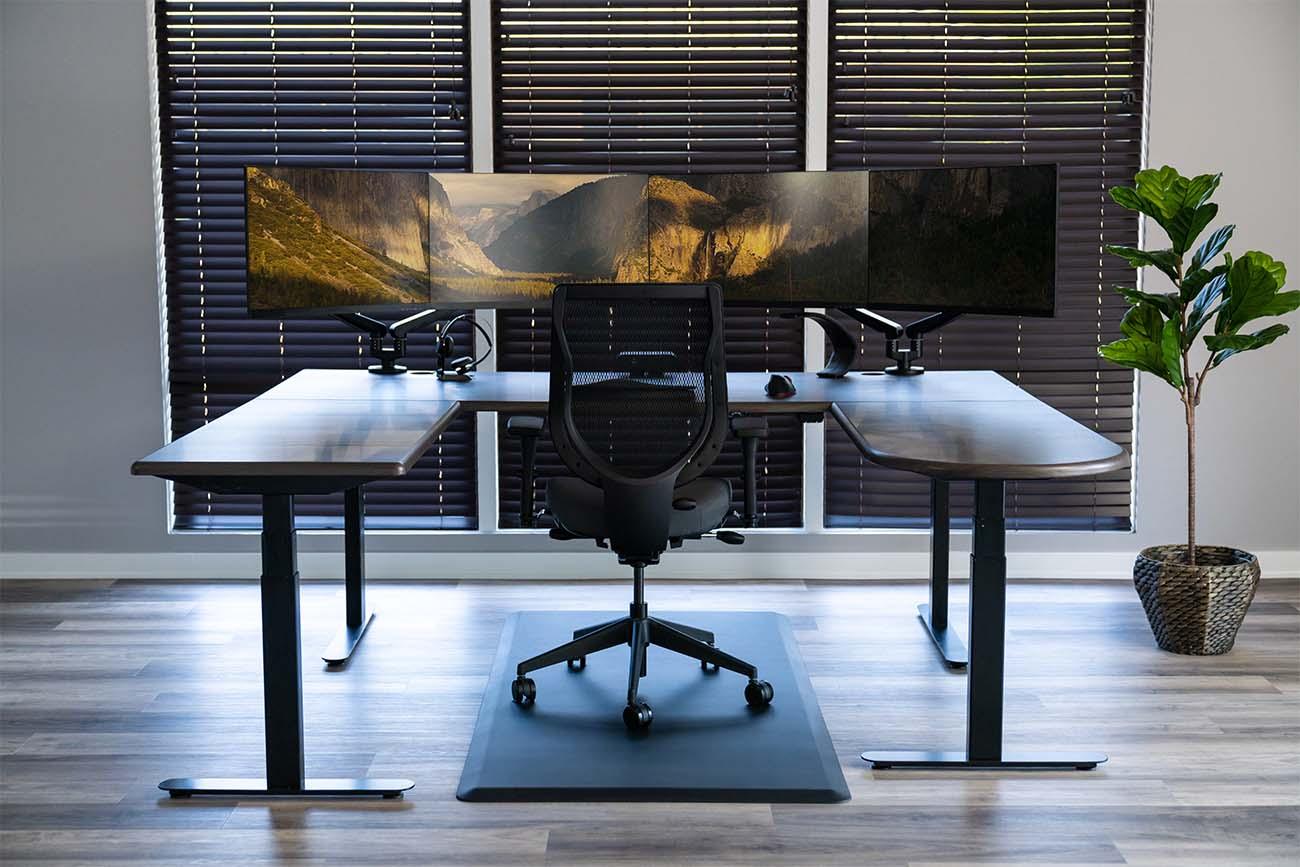 Made-in-the-USA Lander U-Desk