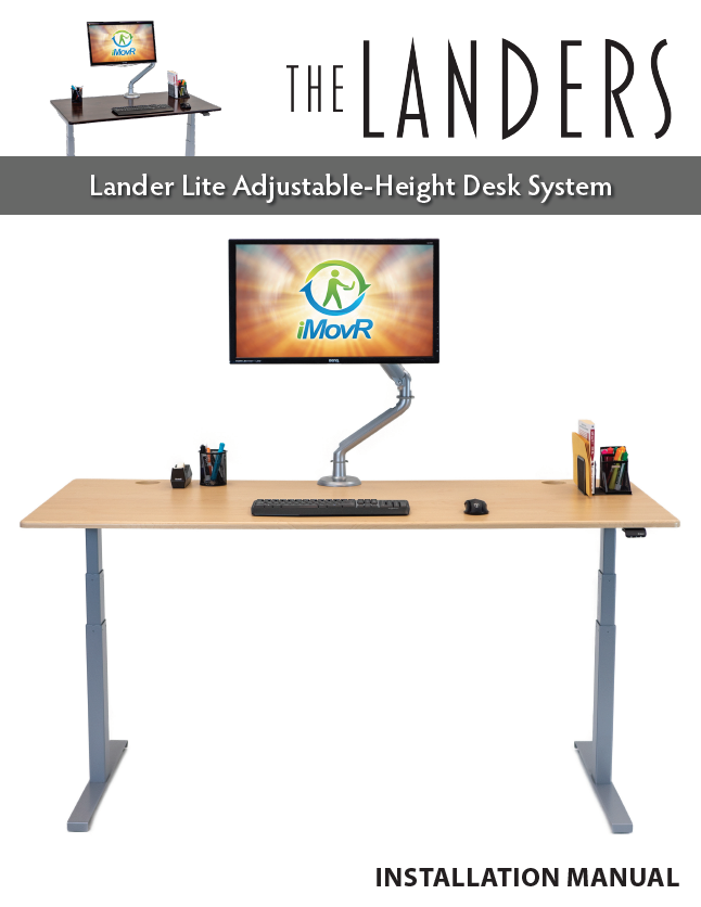 Lander Lite Desk Manual