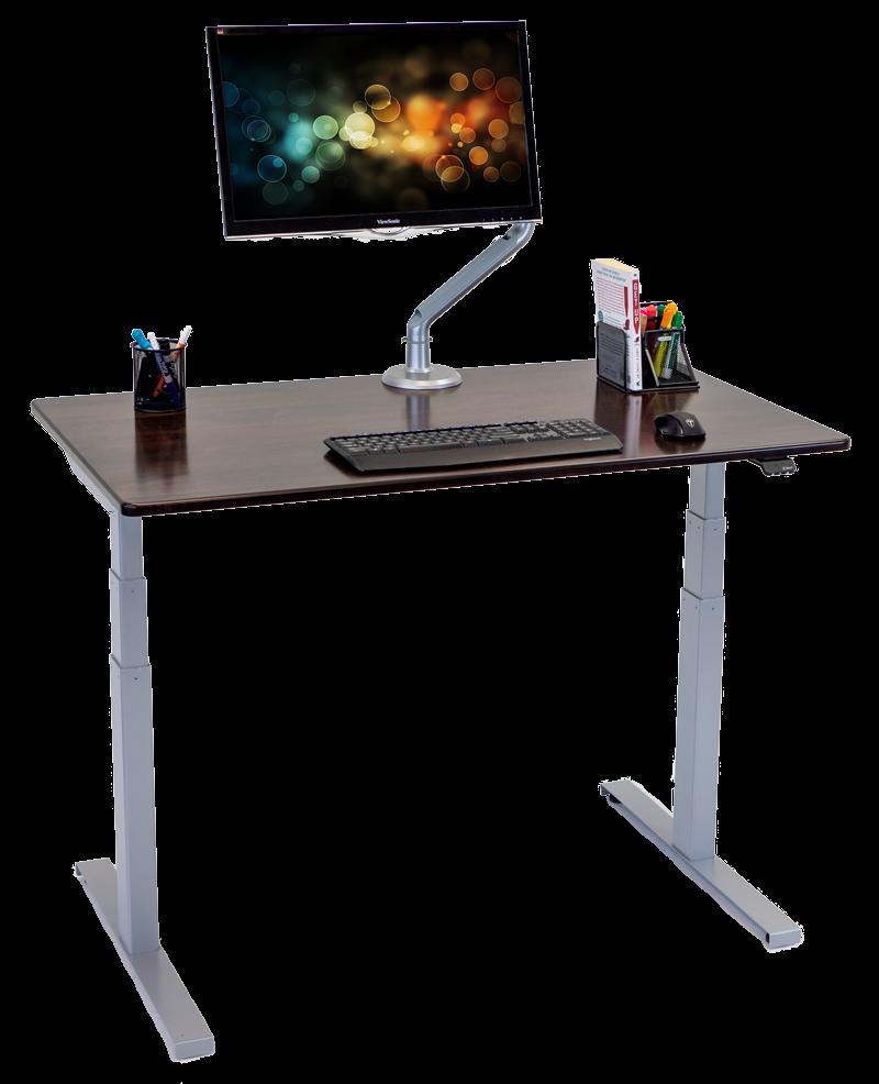 Lander Lite Desk with Solid Wood Top