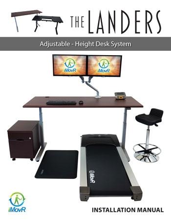 iMovR Lander Standing Desk Manual