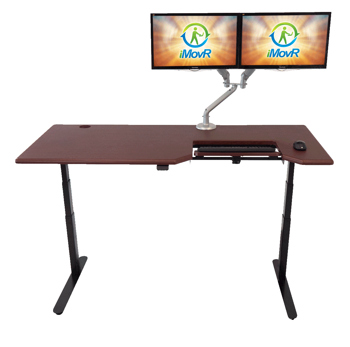 Lander Desk w/ SteadyType™
