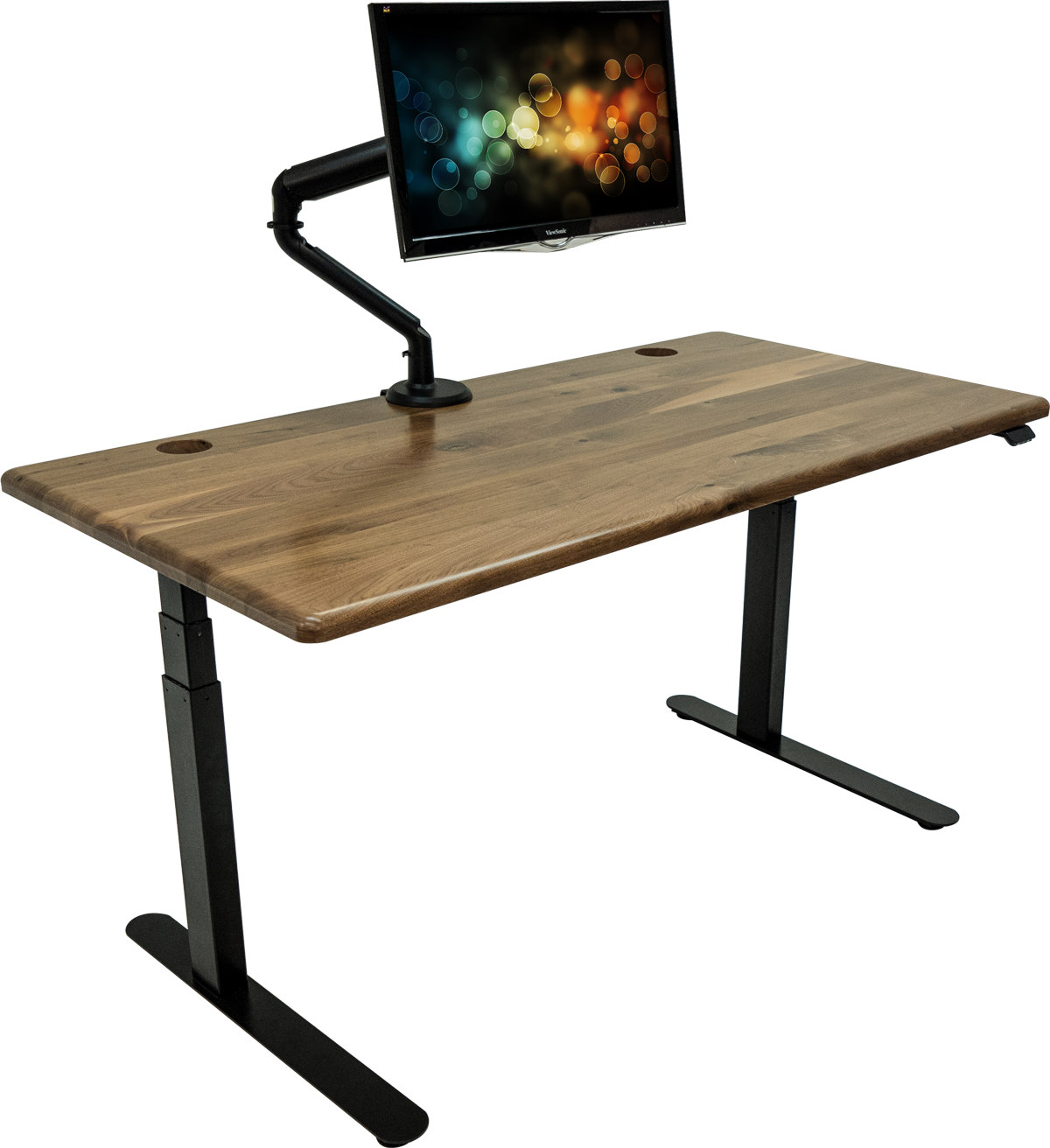iMovR Solid Wood Lander Desk—QuickShip
