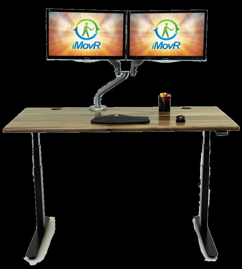 Lander Desk with Solid Wood