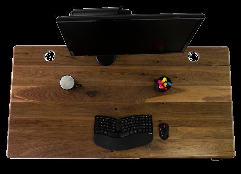 Solid Wood Standing Desks - iMovR