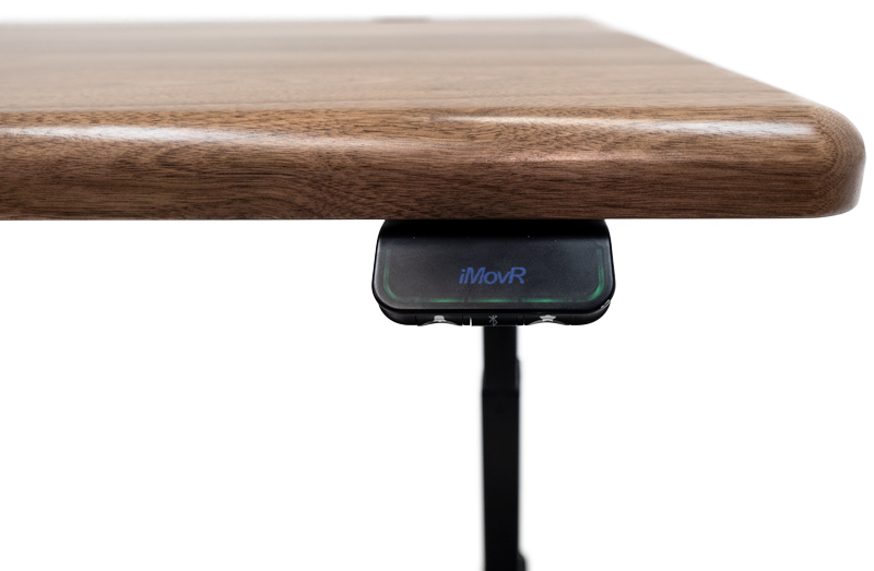 Solid Wood Height Adjustable Standing Desks - iMovR