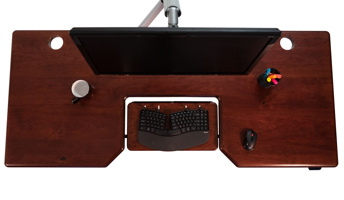 A SteadyType Desk