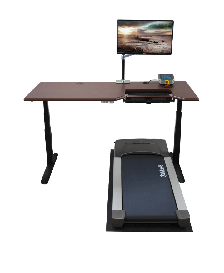 iMovR RightSize Under Treadmill Mat