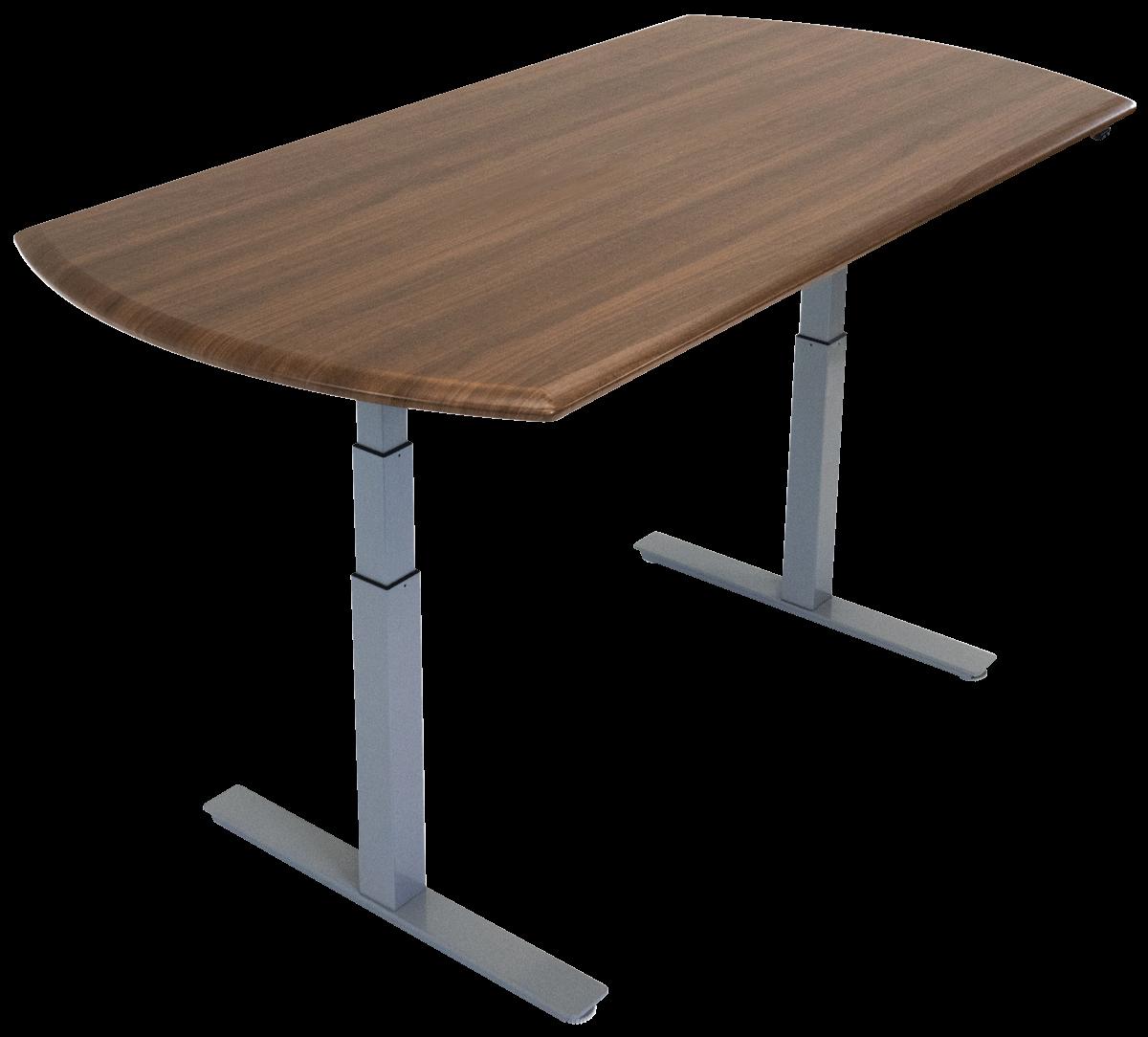 iMovR Synapse Adjustable-Height Multi-Purpose Table - Convex