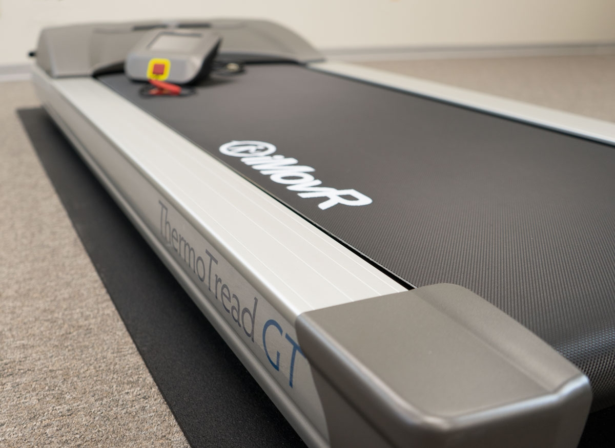 ThermoTread GT Office Walking Treadmill on RightSize Treadmill Mat