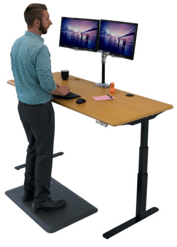 Tremendous Imovr Elite Electric Height Adjustable Desk Home Remodeling Inspirations Propsscottssportslandcom