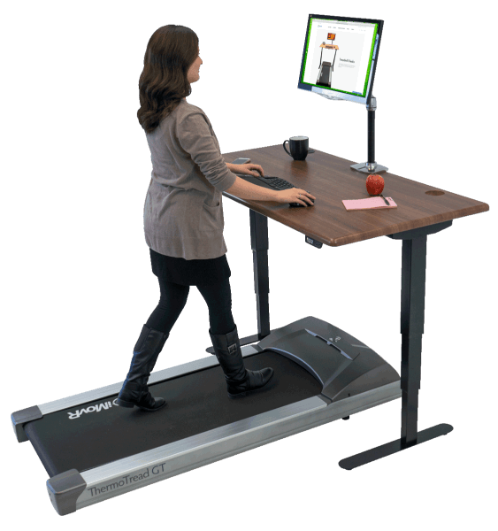 iMovR Energize Standing Desk with ThermoTread GT