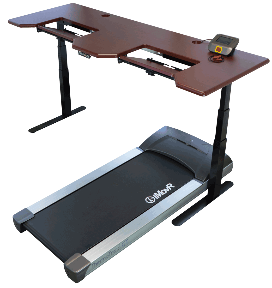 desk review thermodesk ellure thermotread treadmill workstation reviews imovr