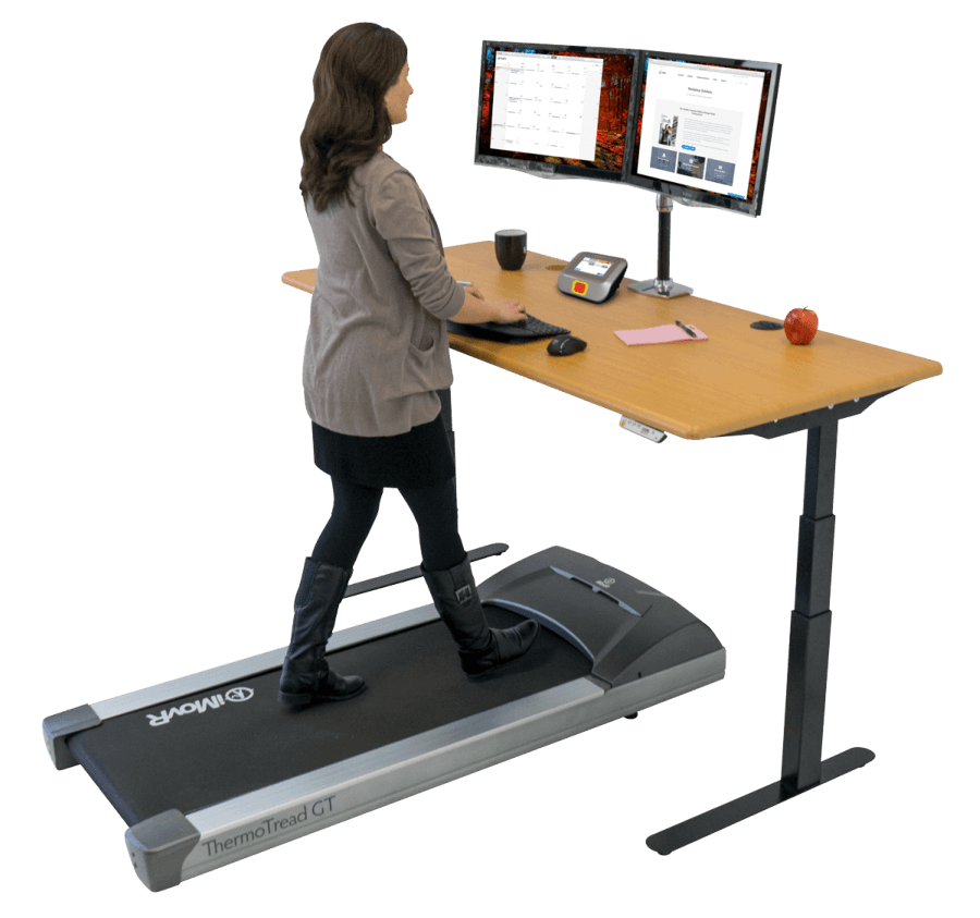 Treadmill For Desk At Work: IMovR ThermoTread GT Office Treadmill Base