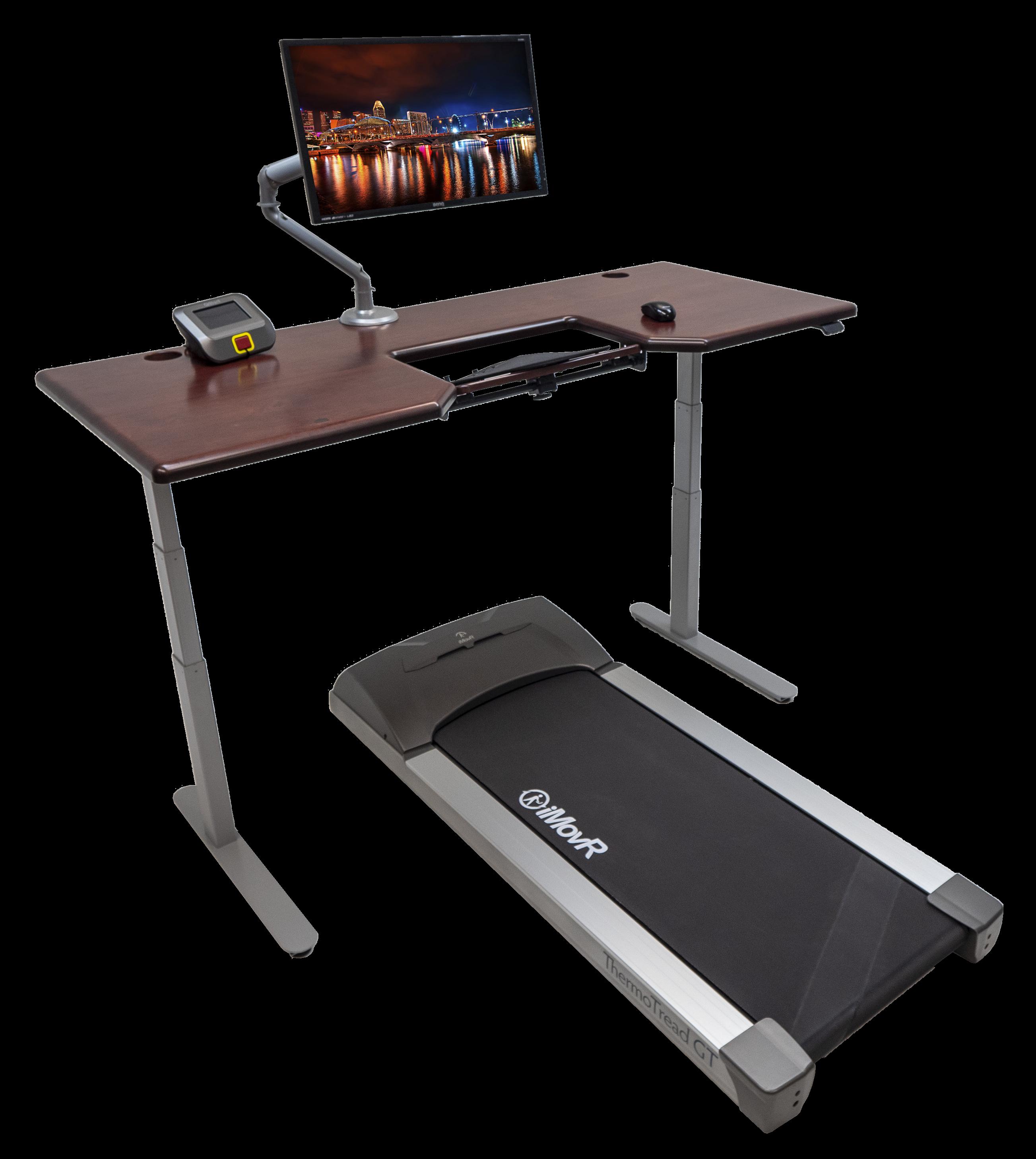 iMovR Lander Treadmill Desk with SteadyType
