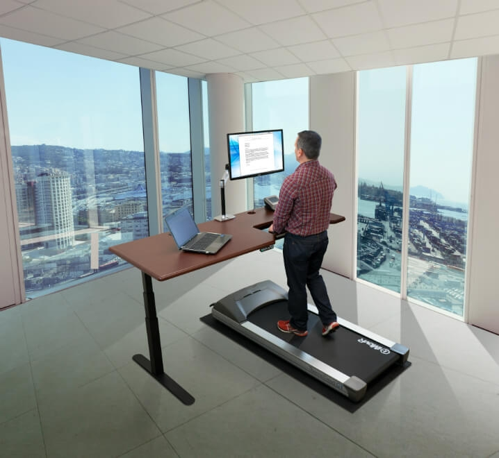 Exceptionnel IMovR ThermoTread Everest Treadmill Desk