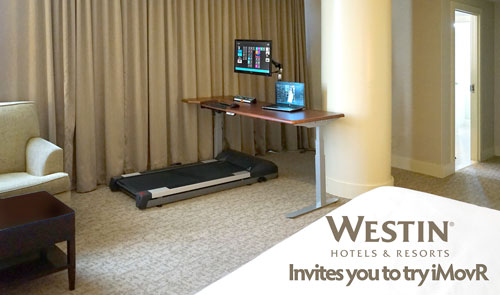 Westin Hotels Offer iMovR in hotel Rooms