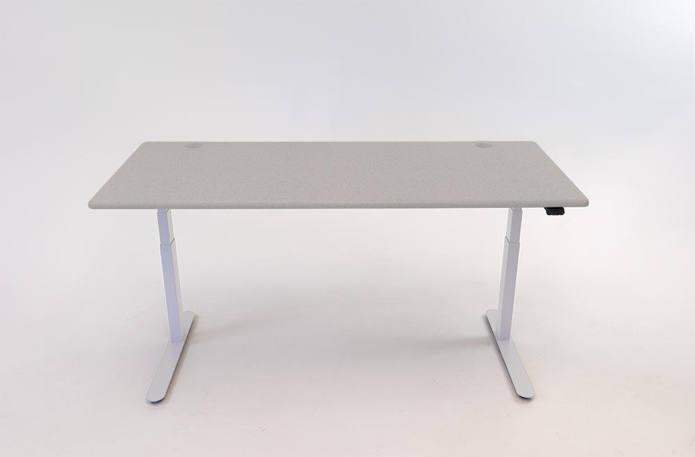 A Fibers Concrete desktop on a white base.