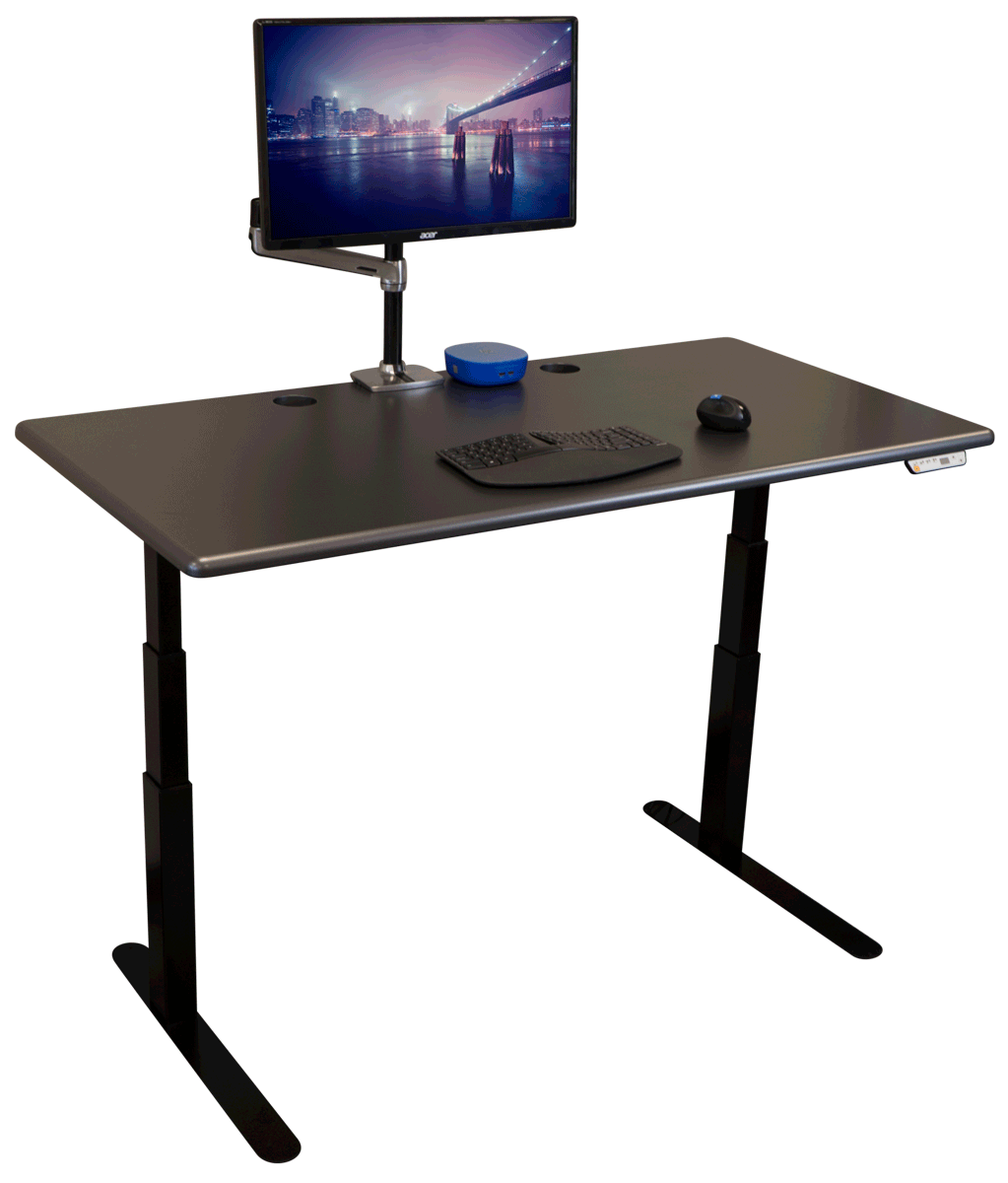 Standing desk.