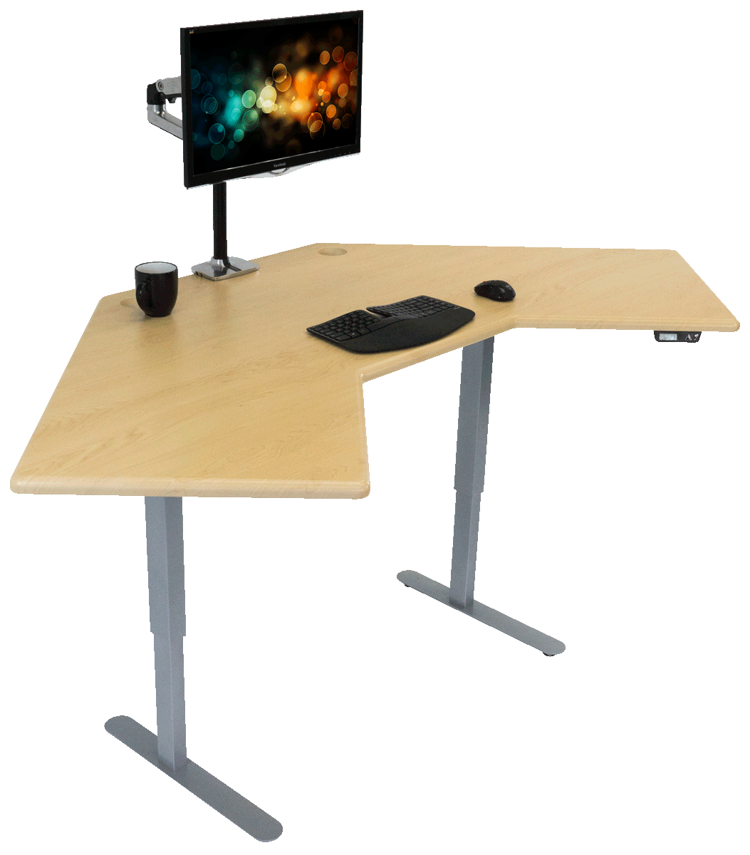 iMovR Energize Corner Standing Desk