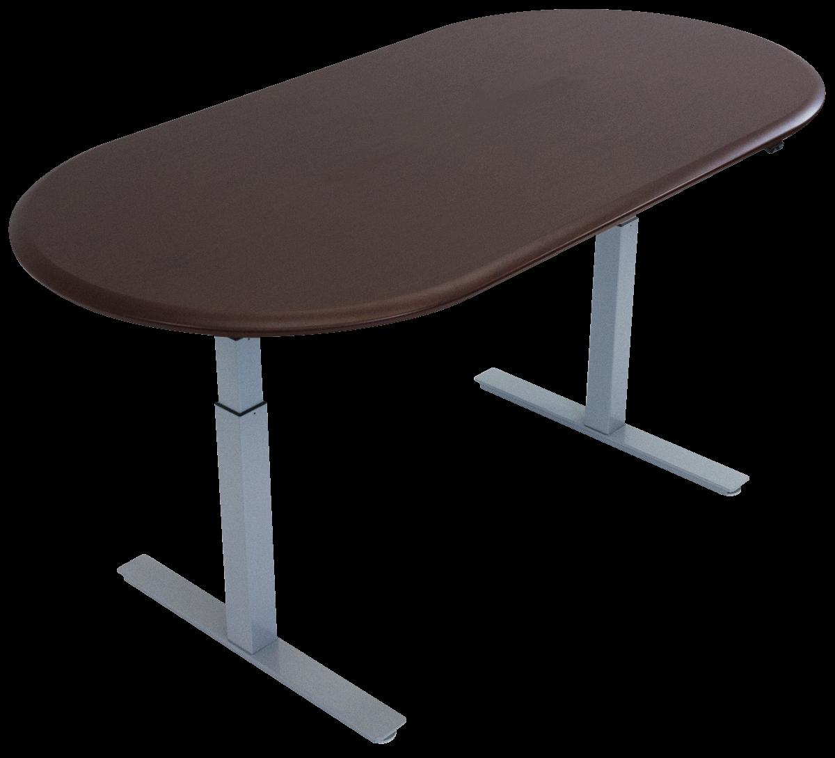 iMovR Synapse Adjustable-Height Multi-Purpose Table - Racetrack